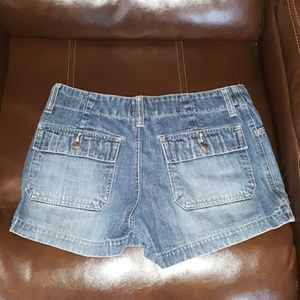 Old Navy Shorts - 5/$25  Old Navy womens 4 blue jean shorts, cute!